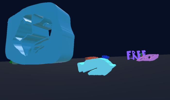 Formes VR dans le jeu