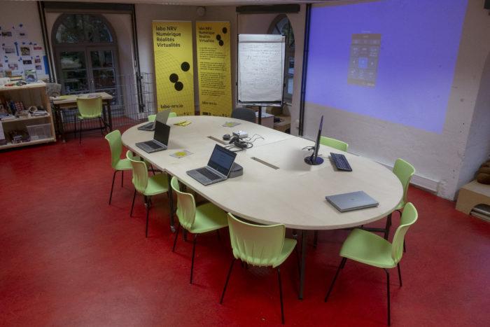 Open space pour une réunion