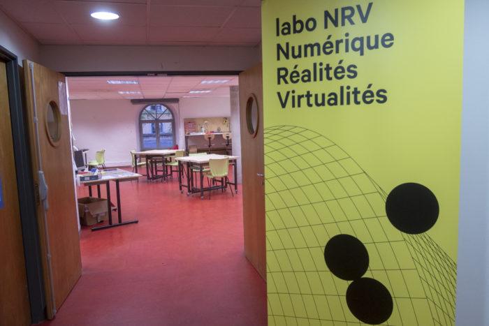 Bienvenue au labo NRV