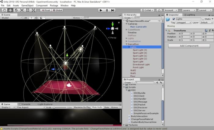 2. Création de l'environnement graphique simple