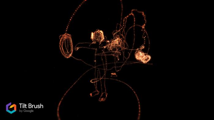 un univers dessiné en VR