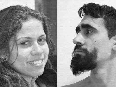 Portraits d'Ariane Cassimiro et d'Alex Andrix