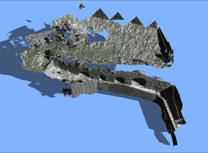 Un terrain en 3D