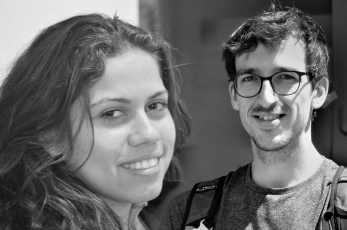 Portraits d'Ariane Cassimiro et Yves Brozat