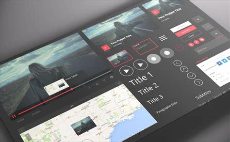 L'interface du logiciel Klynt sur tablette