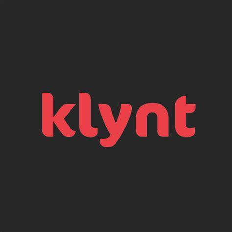 Le logo Klynt : la lettre k sur fond rouge