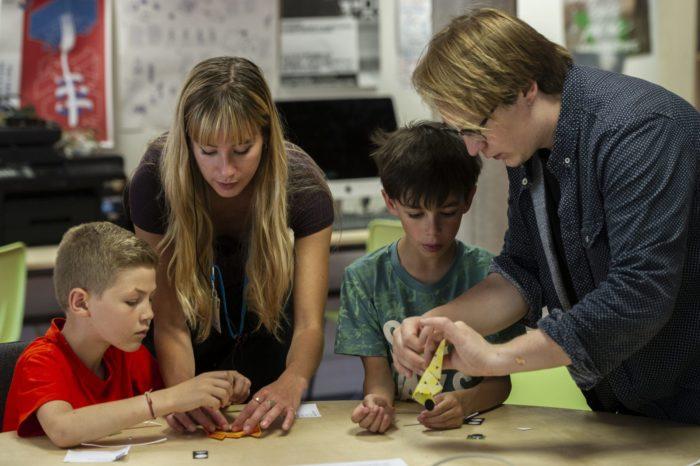 Atelier d'origami électronique