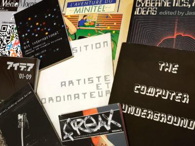 Sélection de livres art/numérique